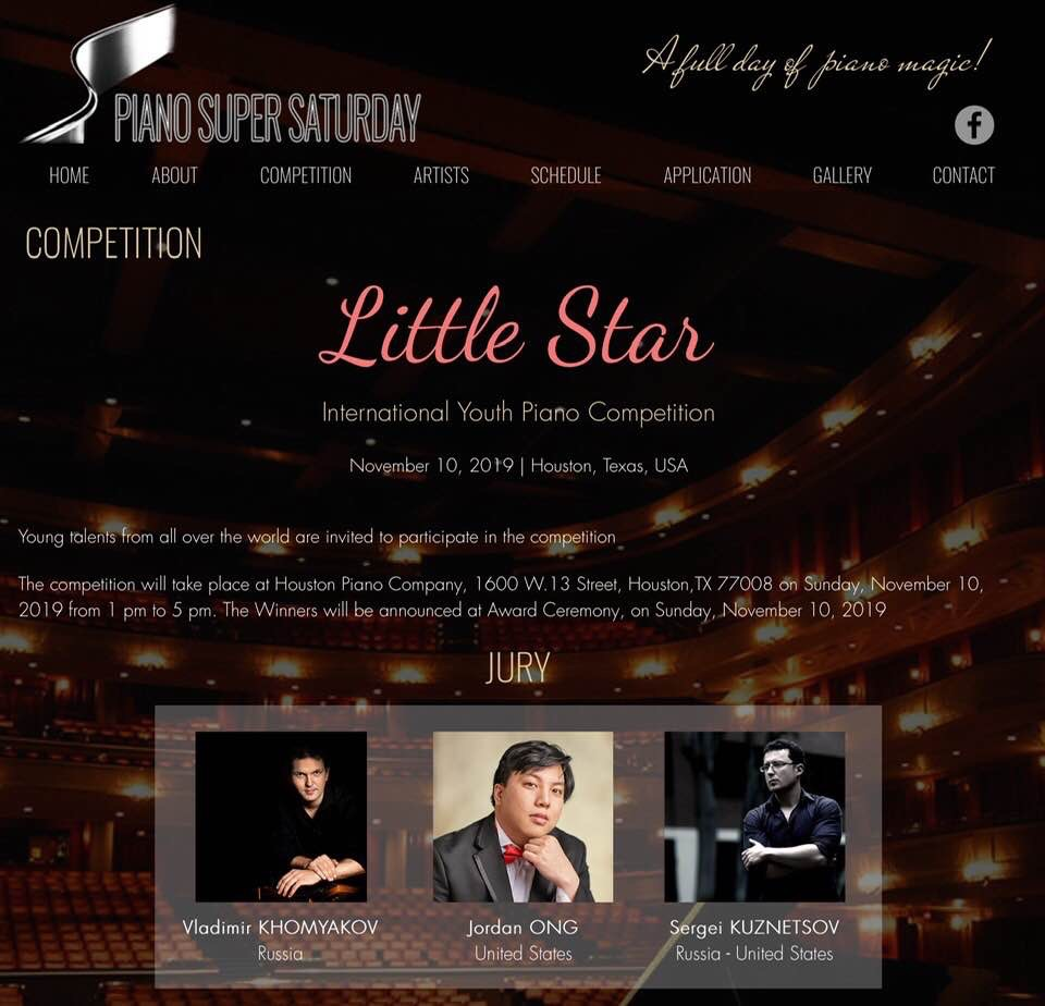 Little Star Piano Competition